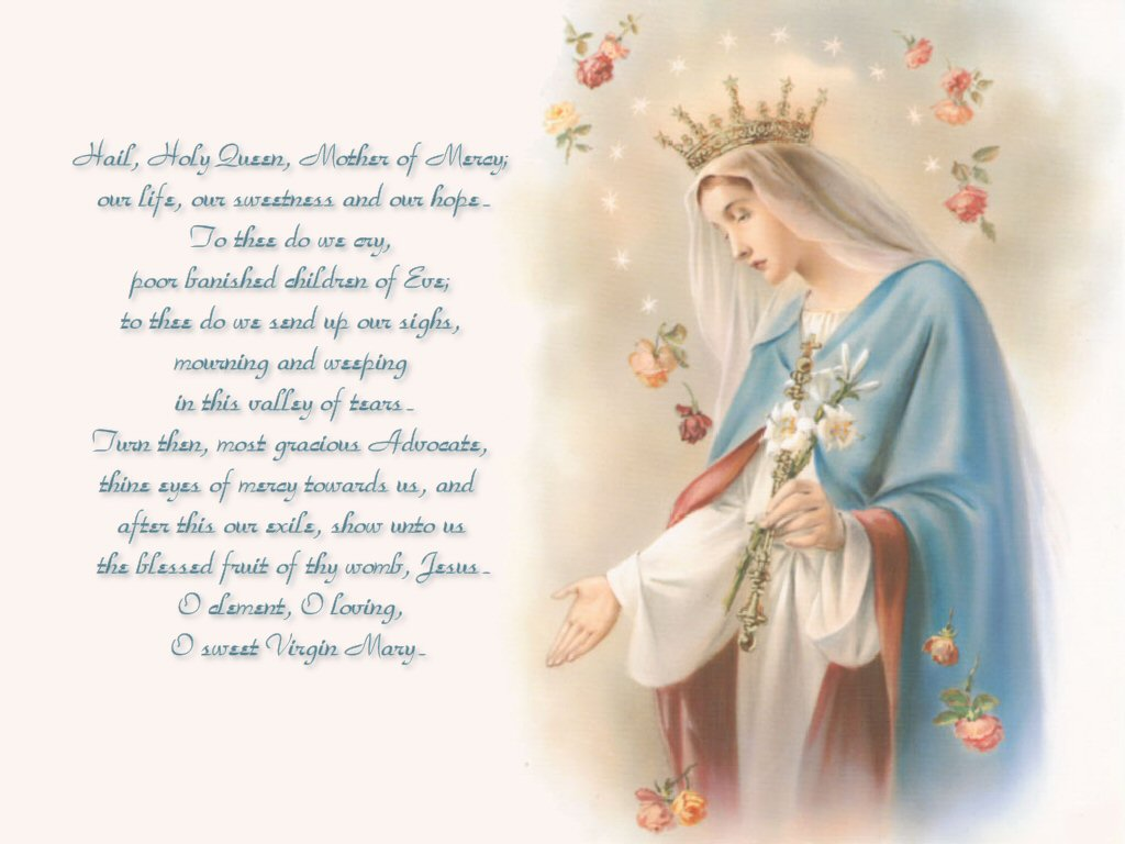 the holy virgin mother mary Flowers have always been associated with the blessed virgin mary there is  even an early tradition that states when the apostles went to open.